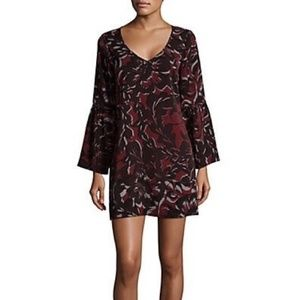 Saks Fifth Avenue Flounce Mini Dress